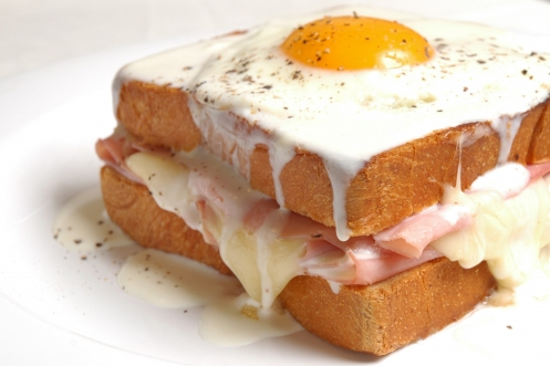 brunch croque madame