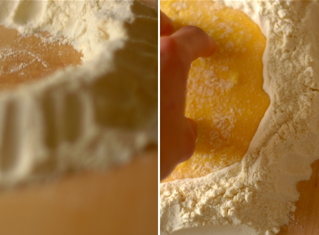 pasta prep.001 Homemade Fresh Pasta Dough Recipe