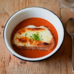 Roasted Tomato and Thyme Soup