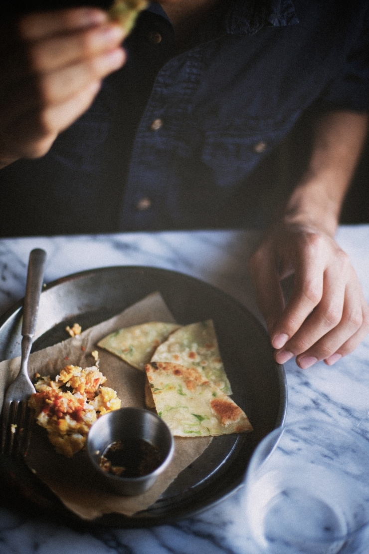 Chinese Scallion Pancakes Recipe | sophisticatedgourmet.com
