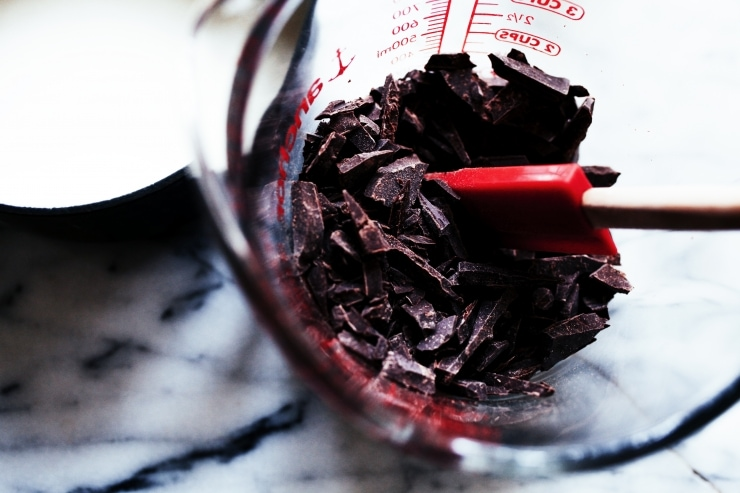 Chocolate Peanut Butter Swiss Roll Recipe   sophisticatedgourmet.com