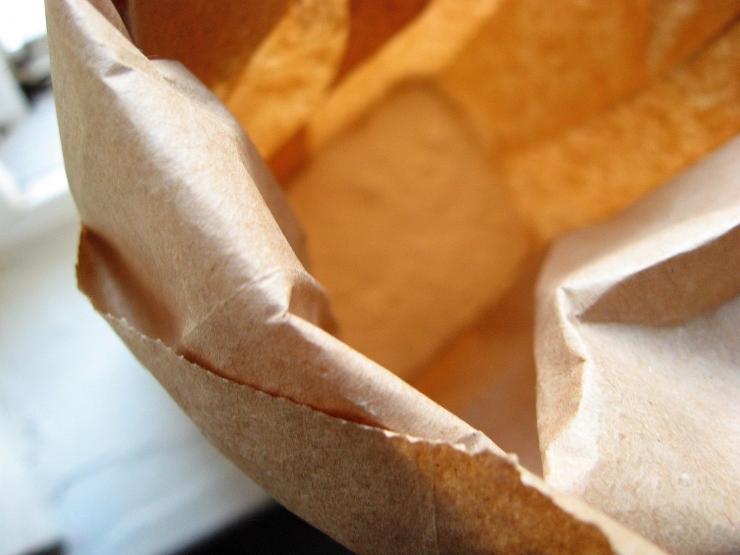 Brown paper bag - Sophisticated Gourmet