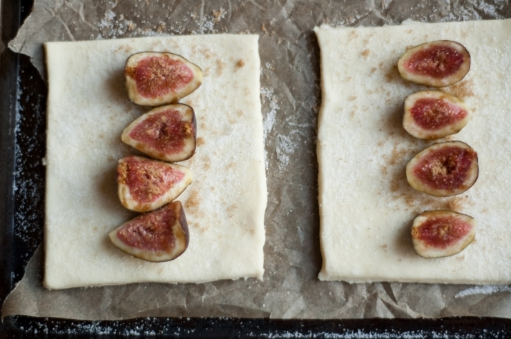 Fig Tarts Recipe | sophisticatedgourmet.com