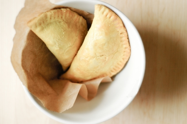 Homemade Jamaican Beef Patty recipe (Beef Patties) made with flaky and delicious pastry and a flavorful, spicy beef filling. | sophisticatedgourmet.com