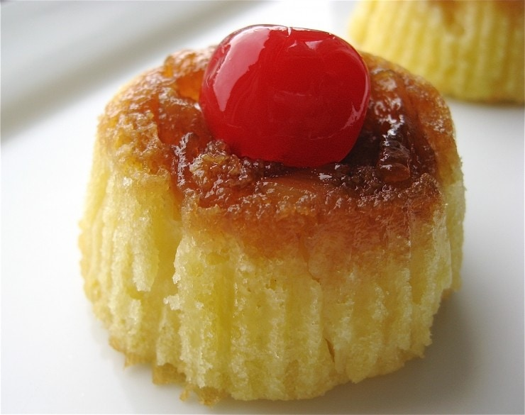 Mini Pineapple Upside-Down Cakes | sophisticatedgourmet.com