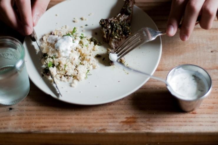 Pistachio, Mint & Spice Crusted Lamb Chops Recipe   sophisticatedgourmet.com