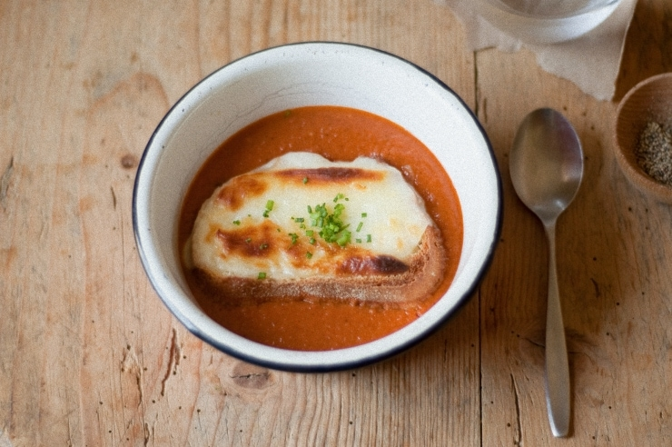 Roasted Tomato Soup Recipe | sophisticatedgourmet.com