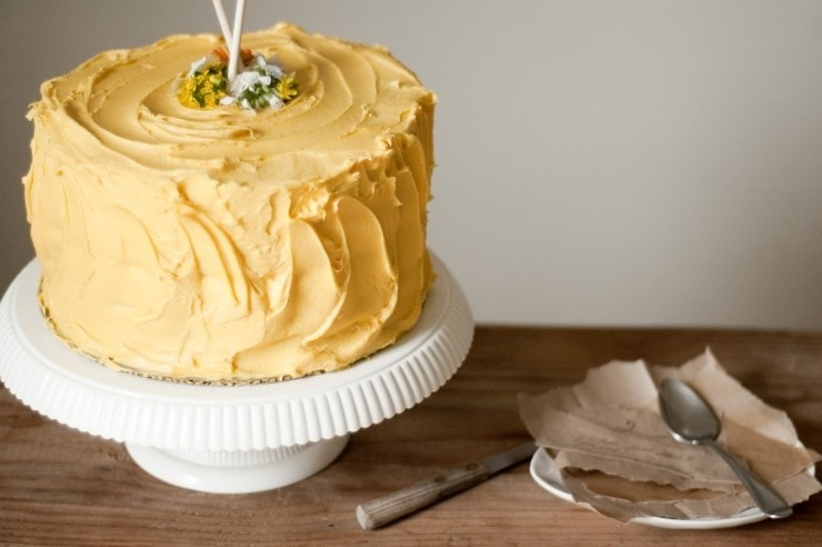 Birthday Cake Recipe | sophisticatedgourmet.com