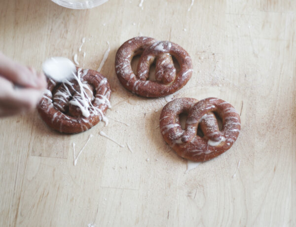 Cinnamon Sugar Pretzels Recipe