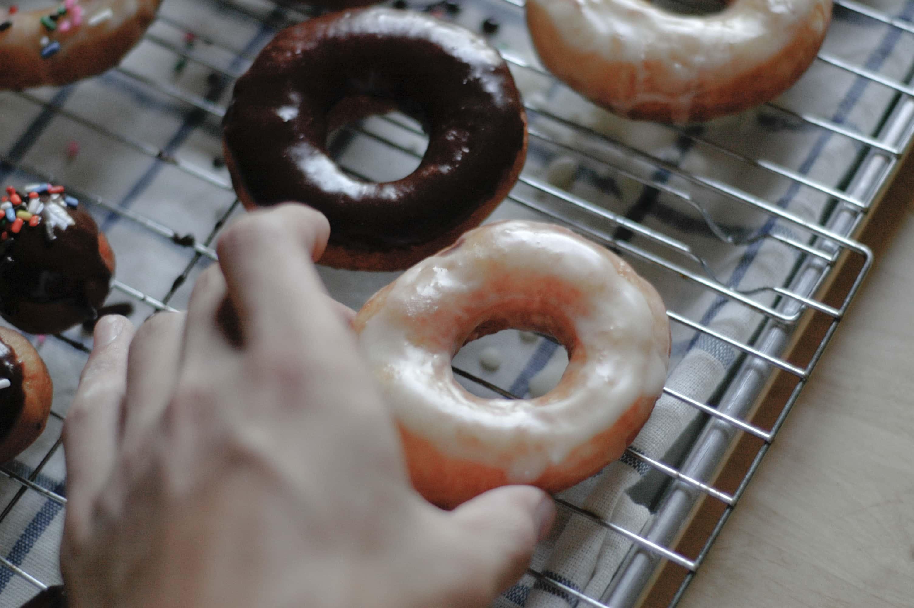 Homemade Glazed Doughnuts Recipe