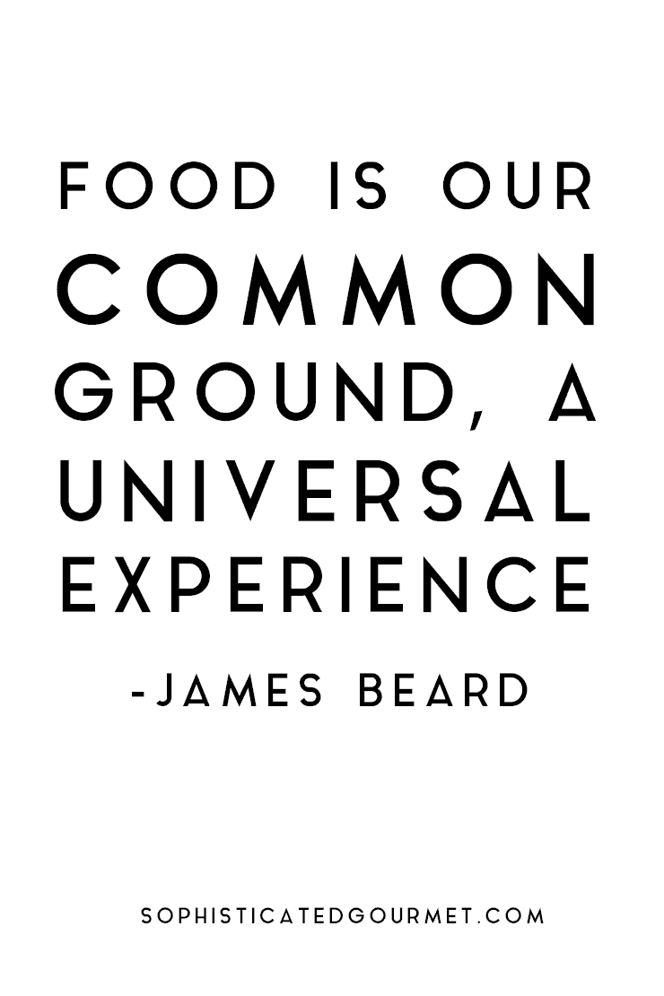 Image gallery james beard food quotes for Cuisine quotes