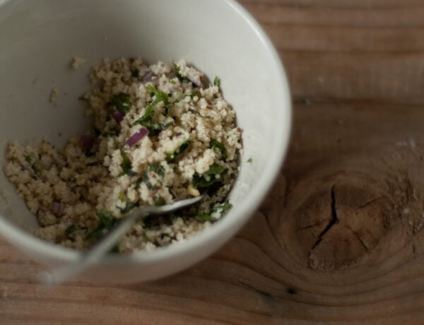 Middle Eastern Couscous Recipe