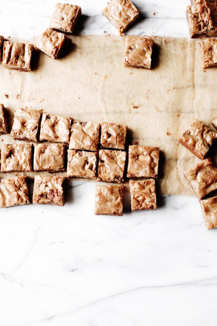 The most irresistible butterscotch-flavored blondies you'll ever make. All you need is one pan and basic pantry ingredients.   sophisticatedgourmet.com