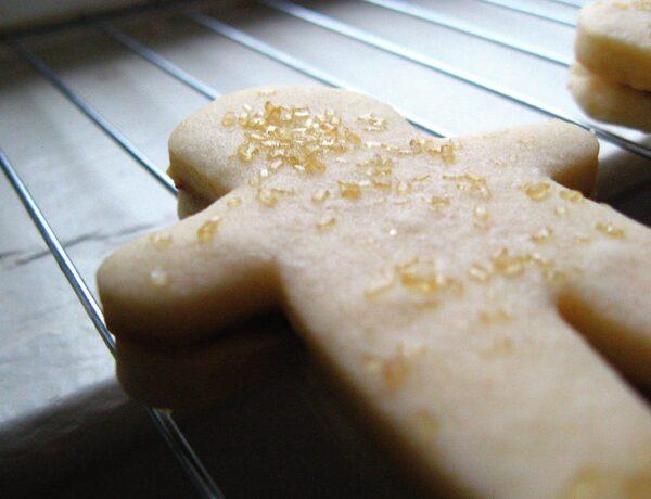 Nutella Shortbread Sandwich Cookies