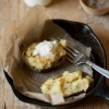 Twice Baked Cheese & Chive Potatoes