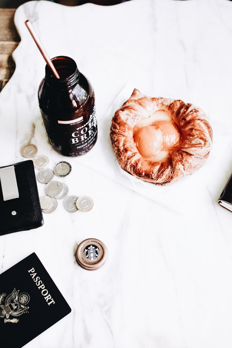Because sometimes you're on the go all you want is some delicious pep in your step. Starbucks Cocoa & Honey with Cream Cold Brew. Do it. | sophisticatedgourmet.com
