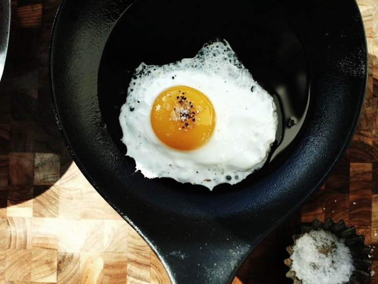 How to Fry an Egg | Sunny Side Up Egg