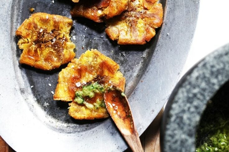 Tostones Recipe - Twice-Fried Green Plantains